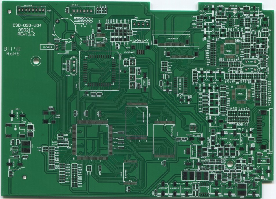 Rogers four-sided HASL board--ACM